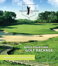 Tennessee Golf package brochure