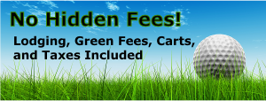 No hidden fees for Tennessee golf packages